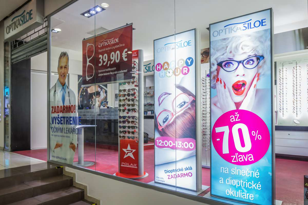 fc1f09899 ... Shopping Park Arkádia Optika Siloe - predajna ...