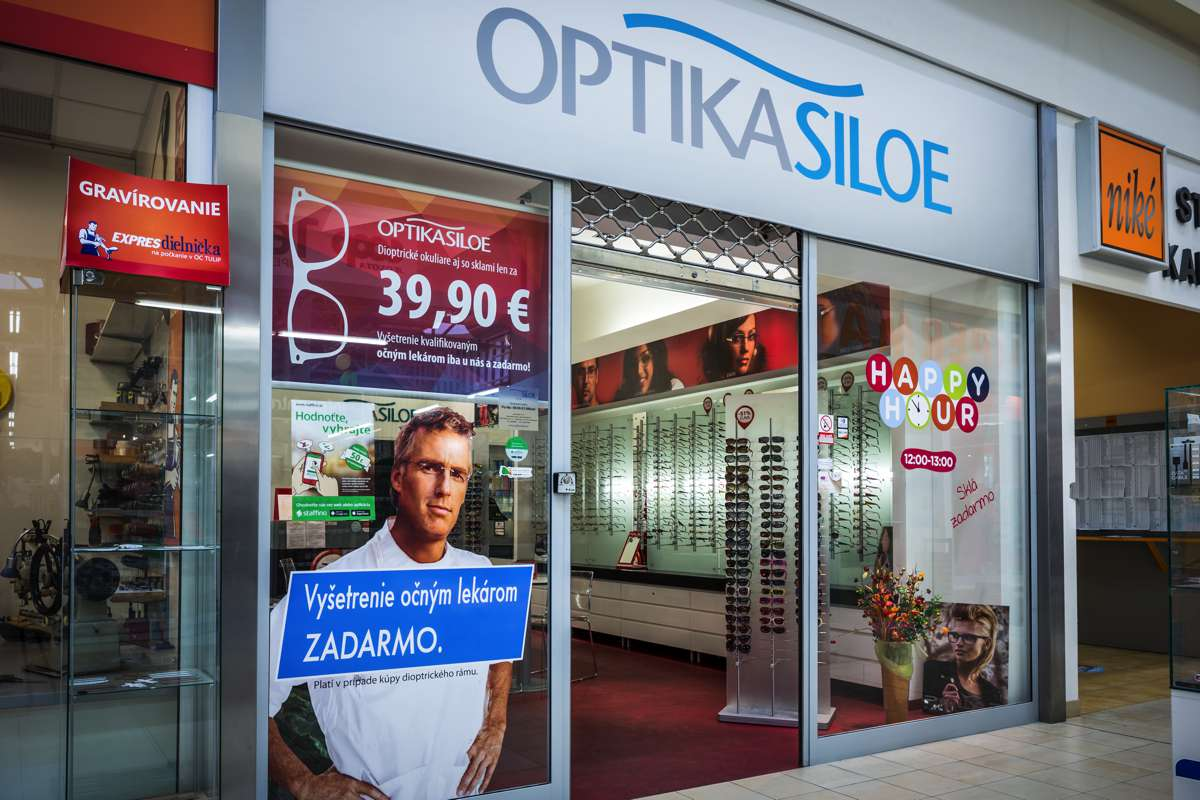 Tulip Center Optika Siloe - predajňa