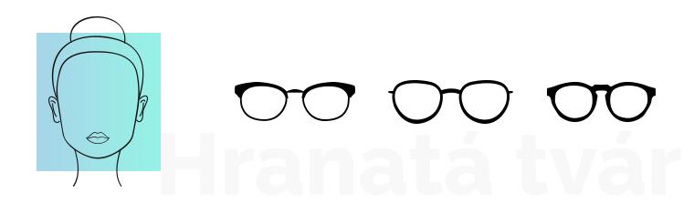 S hranatou tvárou by ste mali siahnuť po okuliaroch s užším rámom a s  miernym zaoblením. To vynikajúco doplní vaše ostré črty. Dávajte si pozor  na príliš ... 0447b2387d4